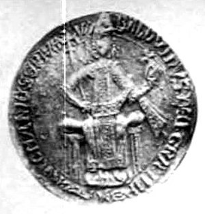 Baldwin II, Latin Emperor - Seal of Baldwin II