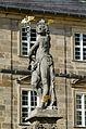 Bamberg, St. Michael, Merkurbrunnen, Merkurfigur, von Süden-001.jpg