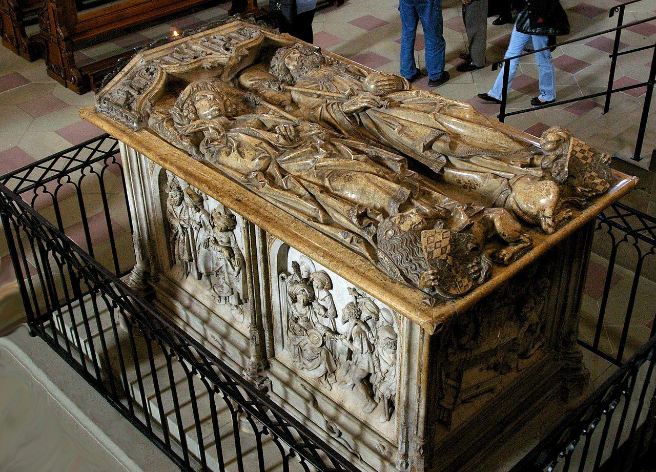 Kaisergrab von Heinrich II. und Kunigunde im Bamberger Dom.