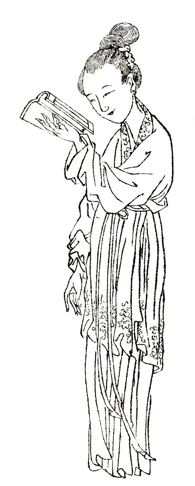 Ban Zhao, courtesy name Huiban, was the first known female Chinese historian.