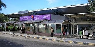 Bandar Tasik Selatan station - Image: Bandar Tasik Selatan station (Rawang Seremban Line) (eastern entrance), Klang Valley