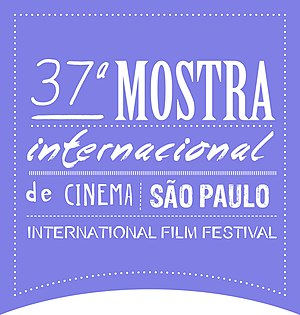 São Paulo International Film Festival - Official logo of the 37th edition