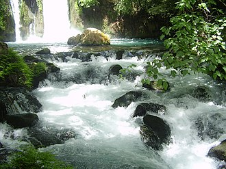 National Water Carrier of Israel - Banias waterfall, Golan Heights