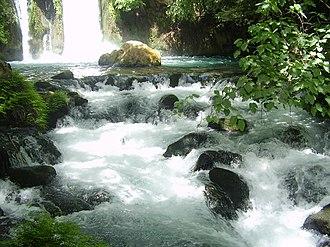 War over Water (Jordan river) - Banias waterfall, Golan Heights