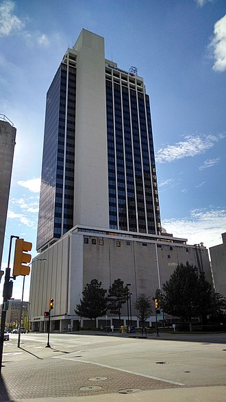 Bank of America Center (Tulsa, Oklahoma) - Image: Bank of America Center, Tulsa