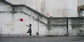 Banksy Girl and Heart Balloon (2840632113).jpg