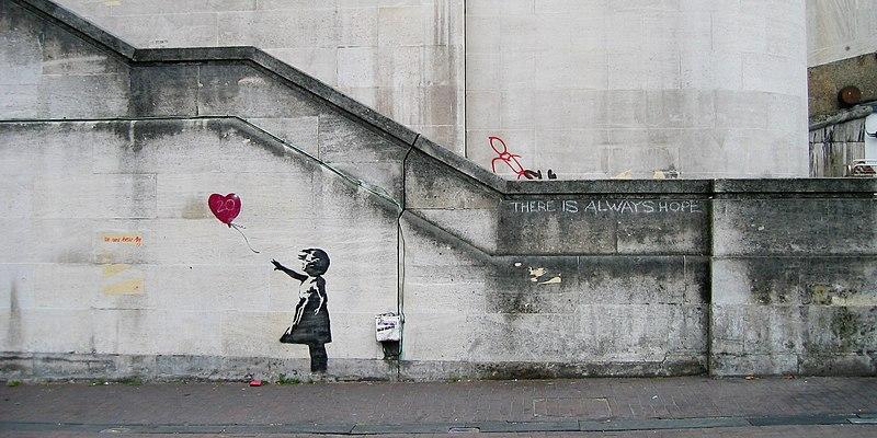 File:Banksy Girl and Heart Balloon (2840632113).jpg