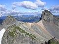 Banshee Peak and Cowlitz chimney saddle - panoramio.jpg