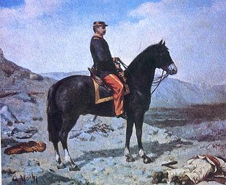 Battle of Los Ángeles - General Manuel Baquedano