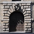 Barcelona. Generalitat Palace. Door to Carrer del Bisbe. C. 1638. Pere Pau Ferrer, architect. (18966422650) (cropped).jpg