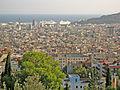Barcelona des del Parc Güell, port.jpg