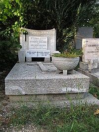 Baros Gyula sírja.JPG