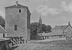 Galston, East Ayrshire - The Barr Castle in 1900.