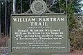Bartram Trail sign in McIntosh County, GA, US.jpg