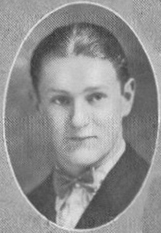 Basil Wolverton - Wolverton as a senior in high school, 1927.