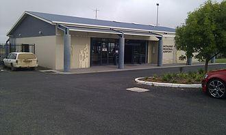 Bathurst Airport (New South Wales) - Bathurst Airport Terminal Building, 2011