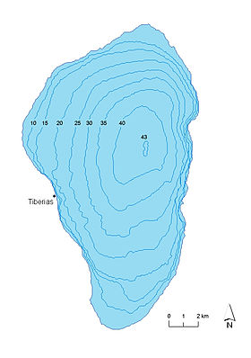 Bathymetric map of Sea of Galilee.jpg