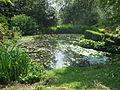 Batsford Arboretum lily pond-7267380244.jpg