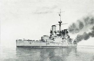 Italian battleship <i>Emanuele Filiberto</i>