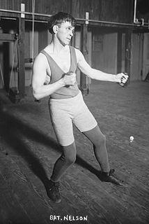 Battling Nelson Danish-American boxer