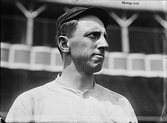Beals Becker - Becker with the New York Giants