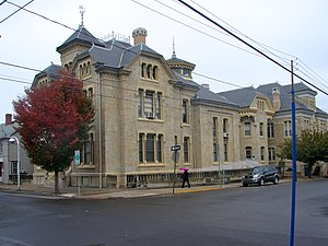 National Register of Historic Places listings in Montour County, Pennsylvania - Image: Beaver Free Library Montour Co PA