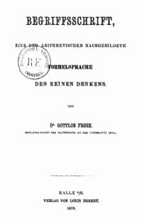 Begriffsschrift cover