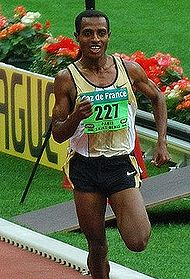 Bekele in 2006 at Golden League
