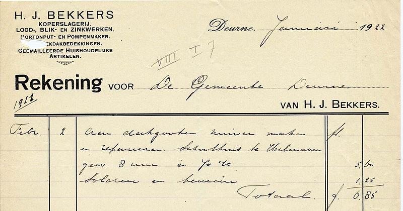 Bestand:Bekkers, hj - koperslagerij lood- blik- en zinkwerken 1922.jpg