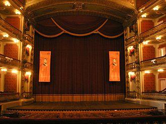 Theatro da Paz - The stage