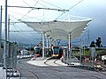 Belgard tram stop, Belgard (geograph 2108102).jpg