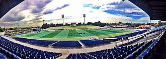 Belmore Sports Ground - Inside the main grandstand at Belmore Sports Ground