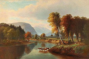 Benjamin Champney - Image: Benjamin Champney Saco River, North Conway