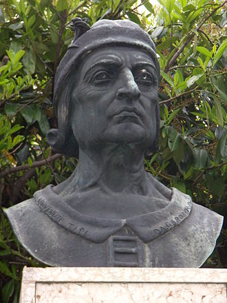 Benvenuto Tisi - Monument to Benvenuto Tisi da Garofalo in Rovigo (Italy)