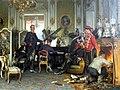 Berlin, Alte Nationalgalerie, Anton von Werner, im Etappenquartier von Paris.JPG