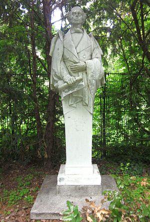Max Kruse (sculptor) - Image: Berlin, Kreuzberg, Viktoriapark,Herme Ludwig Uhland von Max Kruse