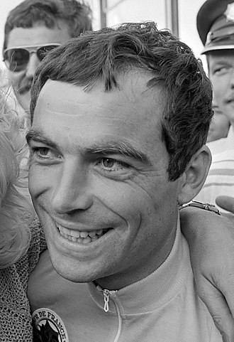 1985 Tour de France - Bernard Hinault (pictured in 1982), winner of the general classification, his fifth
