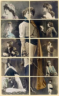 Roles played by Sarah Bernhardt Wikimedia list article