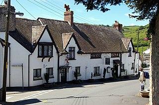 Berrynarbor Village and civil parish in the North Devon district of Devon, England