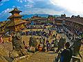 Bhaktapur Nyatapola Temple View from Top.jpg