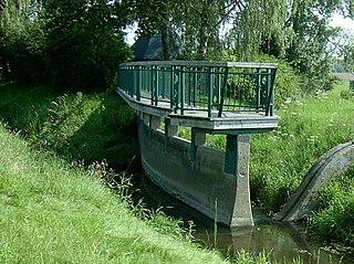 Else (Werre) River in Germany