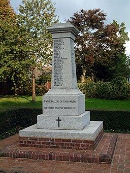 Biggin Hill War Memorial, TN16 - geograph.org.uk - 68641