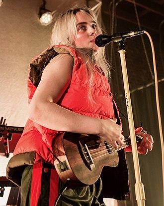 Billie Eilish - Eilish performing in 2017
