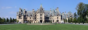 The Biltmore Estate outside Asheville.