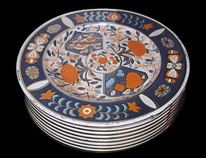Royal Crown Derby - Image: Biscuit tins VA 2480