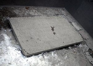 Beatrice of Bavaria - Memorial stone to burials at Black Friars' Monastery of Stockholm