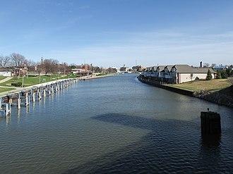 Black River (St. Clair County) - The Black River in Port Huron