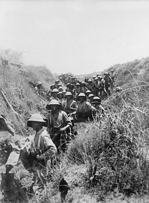 Black Watch in Palestine June 1918 IWM photo Q 012484.jpg