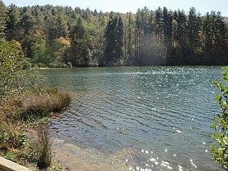 Black Rock Mountain State Park - Black Rock Lake