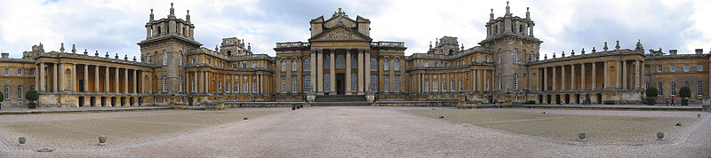 Blenheim Palace was designated